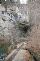 Natural Tunnel 1 by uglygosling