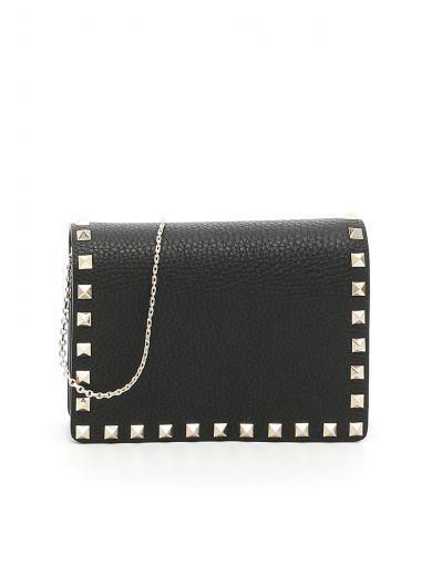 VALENTINO Rockstud Bag. #valentino #bags #shoulder bags #lining #suede #