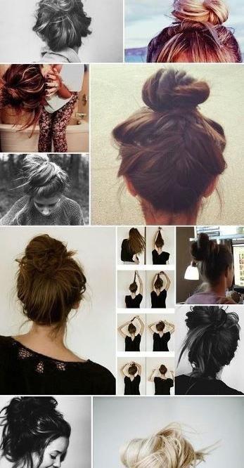 bun up-do's