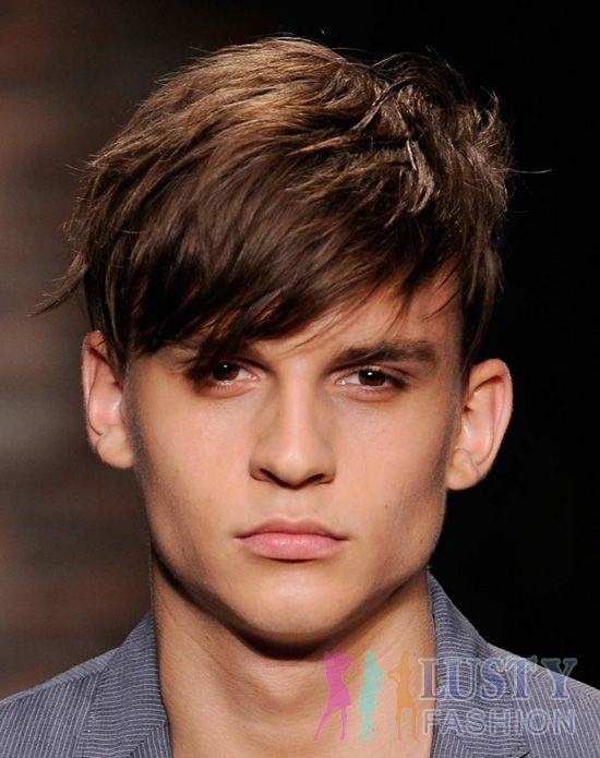 Excellent Hairstyles Men Bangs And Long Bangs On Pinterest Short Hairstyles Gunalazisus