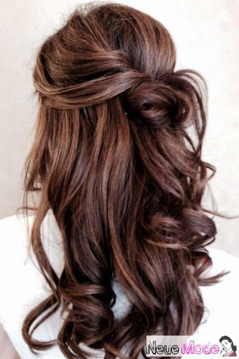 Halboffene Frisur Neue Halboffene Frisuren 2019 Abiball Frisuren Halbof Festliche Frisuren Lange Haare Frisuren Lange Haare Offen Brautfrisuren Lange Haare