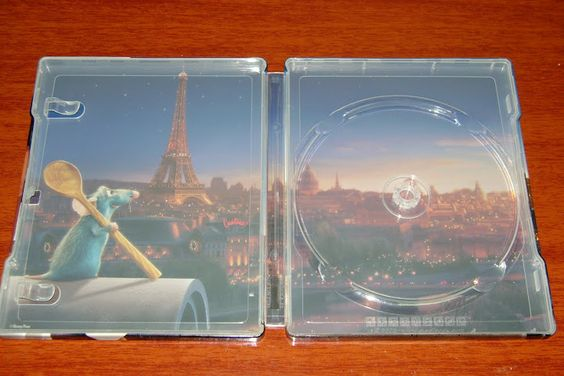 Renata Collection: Ratatouille Exclusive Disney SteelBook