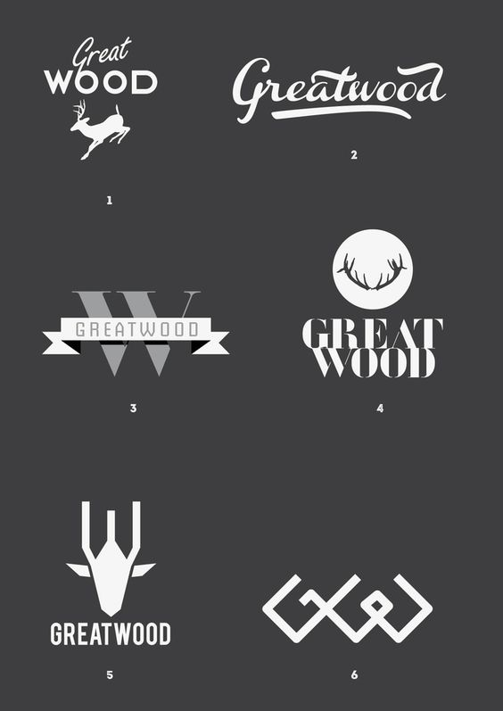 Greatwoog by Mehdi, via Behance