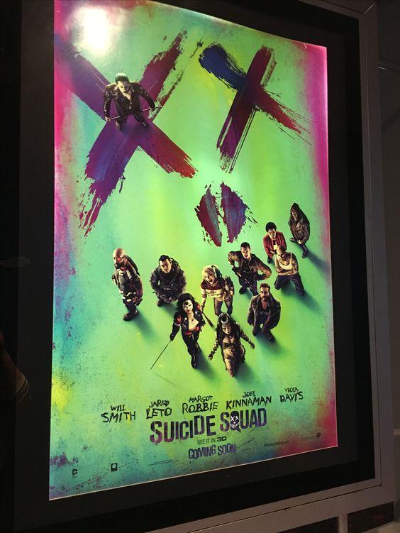 Suicide Squad Print Ad (my image)