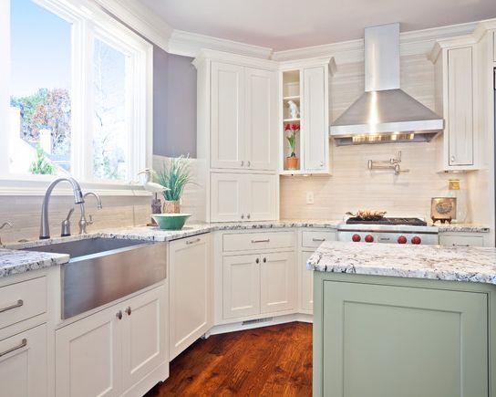 Top 6 kitchen design trends in 2013.