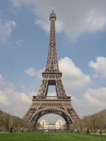The eiffel tower in paris! for sure in my top fifty places i'd like to go before i die