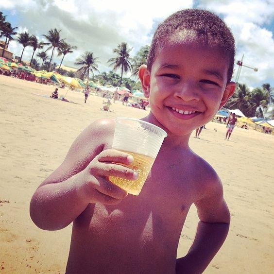 Princeso curtindo a #praia #Verão2014