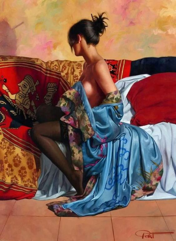 Beautiful Figurative Paintings by Gabriel Picart