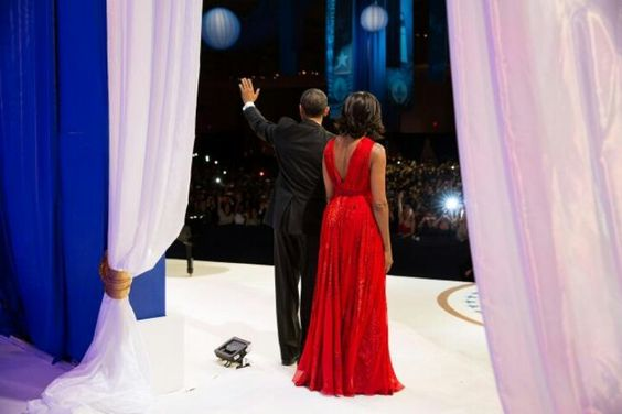 President Barack Obama With 1st Lady Michelle Obama @The Inaugural Ball...