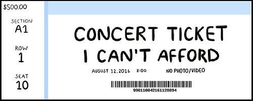 Pegatina Ticket De Concierto De Uyuchu Concert Tickets Bts Concert Tickets Sticker Template