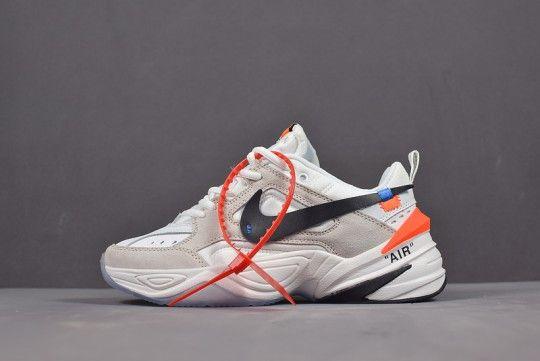 Off White X Nike M2k Tekno A03108 058 Sport Shoes Men Off White Shoes Shoes