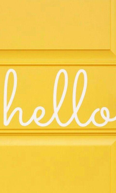 Hello Yellow I Seemeyellow I Cmonicadesignstudio Yellow Aesthetic Yellow Aesthetic Pastel Yellow Wallpaper