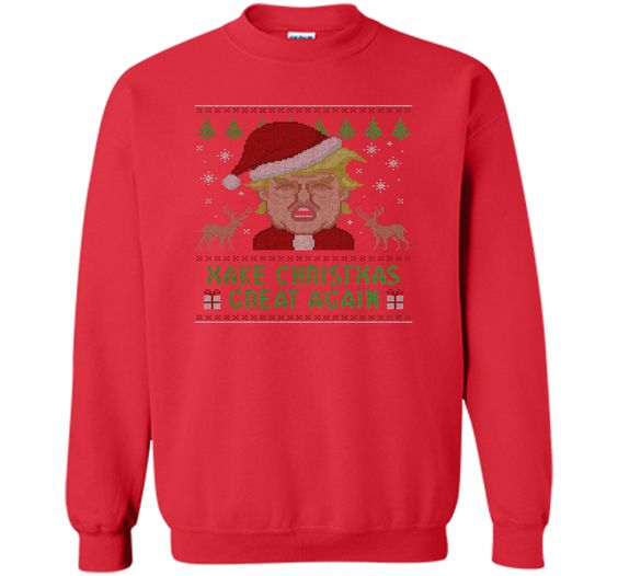 Trump Ugly Sweater Make Christmas Great Again