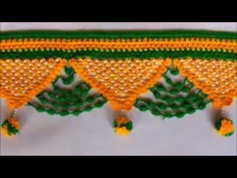 WOW !!! Door Hanging Toran Making at Home || Toran Making