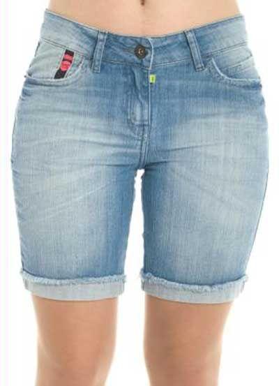 Bermudas Jeans Femininas: Fotos, Modelos, Looks