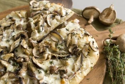 Seeded Pizza with Mushrooms and Taleggio   Whole Foods Market