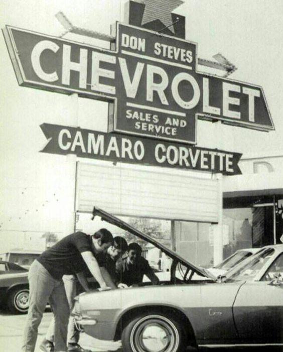 Vintage Pontiac Dealership: Chevrolet Dealership, Car Dealerships And Old Cars On
