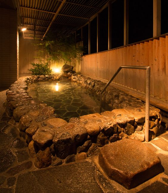 Onsen | Satoyama Holiday Kyoto Keburikawa | Kyoto Onsen Ryokan / Hotel | If you are booking a resort / public inn, [Oyado Net]