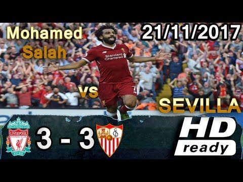 Mohamed Salah Vs Sevilla 3 3 All Goals Extended Highlights Goles 2017 2018 Hd Cris Tv Https Besthighlights Club Mohamed Salah V Mohamed Salah Sevilla Salah