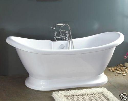 882 Pedestal Bathtub Tub Tubs Clawfoot Free Standing