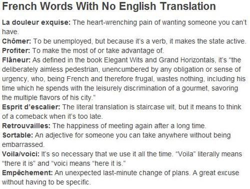 French translation or Pronunciation please!?!?