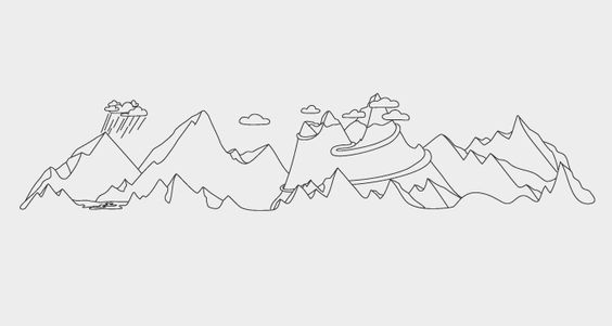 Line Art Landscape : Line drawings of landscapes bing images art