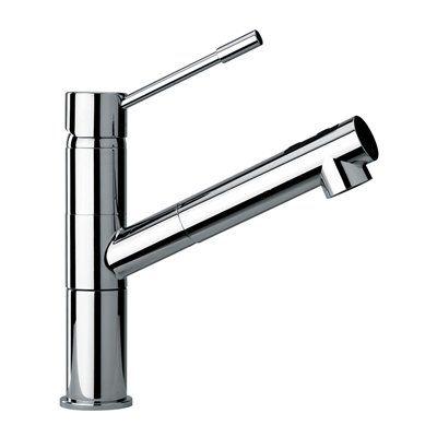 Jewel Faucets 25568 J25 Kitchen Series Modern Single Lever Handle 1 Hole Kitchen Faucet