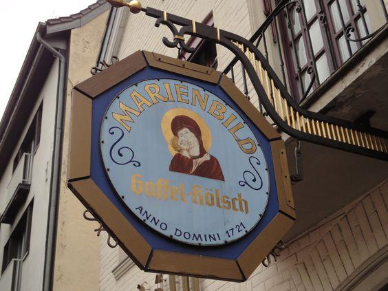 Gaffel im Marienbild in Köln-Braunsfeld http://www.ausflugsziele-nrw.net/gaffel-im-marienbild/ #Gaffel #Marienbild #Koeln #Brauhaus