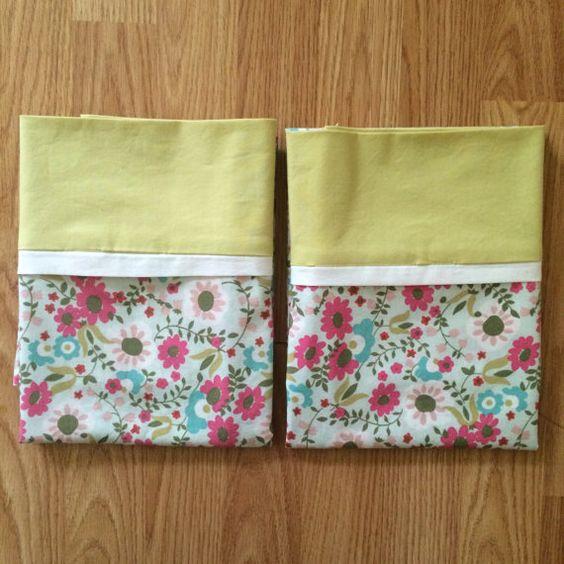 Set of 2 Standard Pillowcases - Cottage Garden
