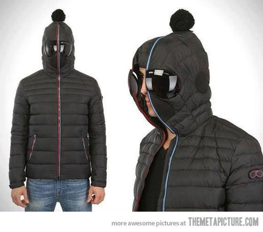 This could possibly be the best winter jacket ever… | Winter ...