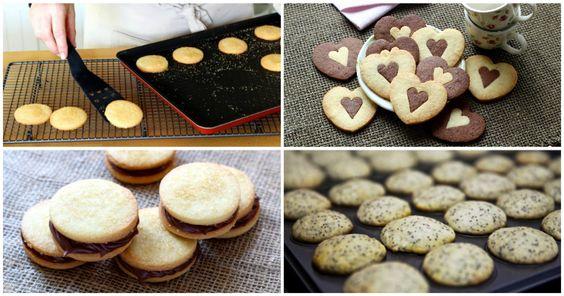 Você é fã de biscoitos amanteigados? Veja os ingredientes que podem ser acrescentados à receita básica para torná-los ainda mais deliciosos.