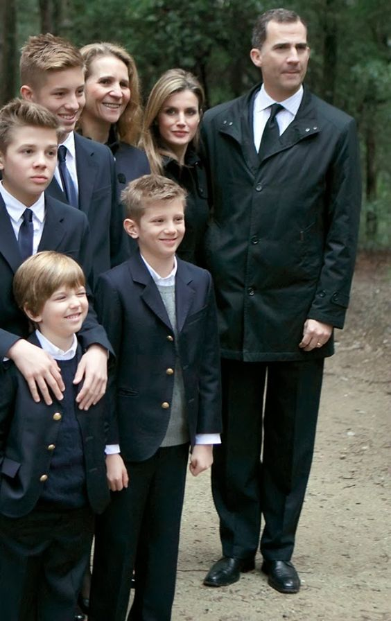 Greece and Spanish Royal Families attended  the Orthodox Mass commemorating the 50th anniversary of King Paul I of Greece's death in the cemetery at Tatoi Palace  in Athens, Greece. 3/6/2014