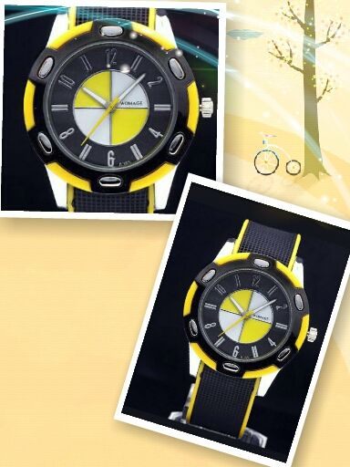 Reloj amarillo silicona - 9€ Ref: R113