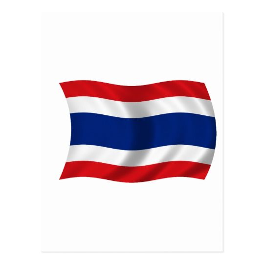 Flag Of Thailand Postcard Zazzle Com Motorcycles Logo Design Thailand Flag Thailand