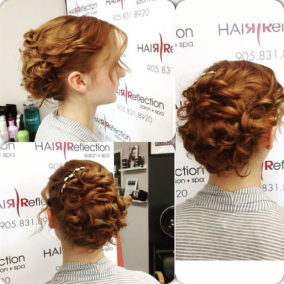 Beautiful updo for prom ! #hairbyjules #hairreflection #curls #beautiful #updo #pickering #gorgeous