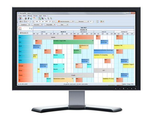 Logiciel de planning - PlanningPME