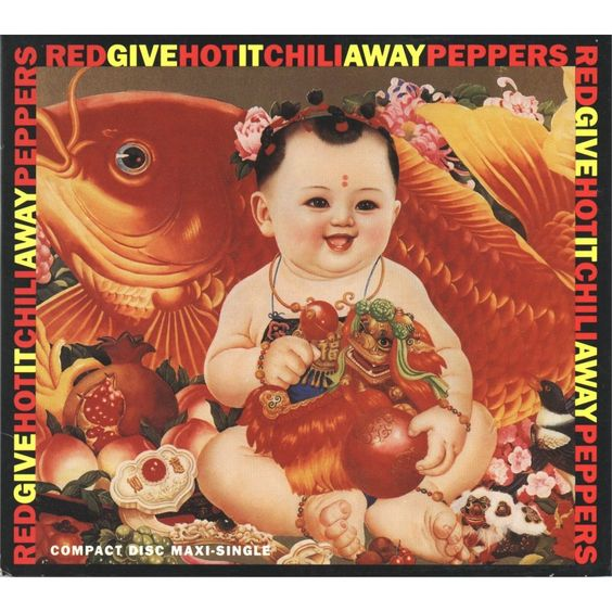 Red Hot Chili Peppers – Give It Away (single cover art)
