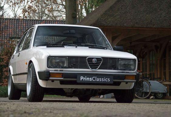 Alfa Romeo Alfetta 2 0 Lusso 1981 Alfaromeo Alfa Romeo Alfa Romeo Cars Sports Cars Luxury