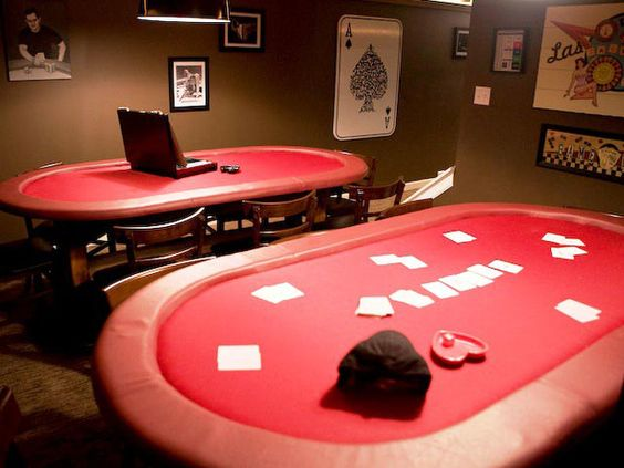 Poker Room in my Man Cave!