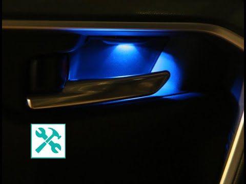 Toyota Door Handle Led Ambient Light Installation In 2020 Light Installation Door Handles Ambient Lighting