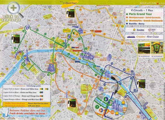 Paris top tourist attractions map Best of Paris one day trip – Map Paris Tourist Attractions
