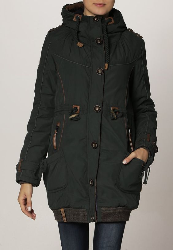 A super cool vegan coat from Naketano. I have a coat from them and