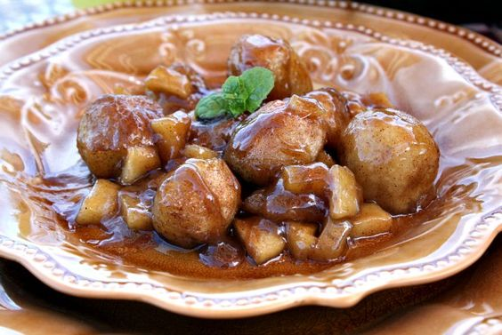 Apple dumpling Bites