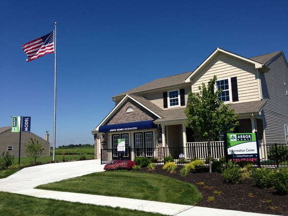 Our model at Honey Creek Meadows in Greenwood, IN