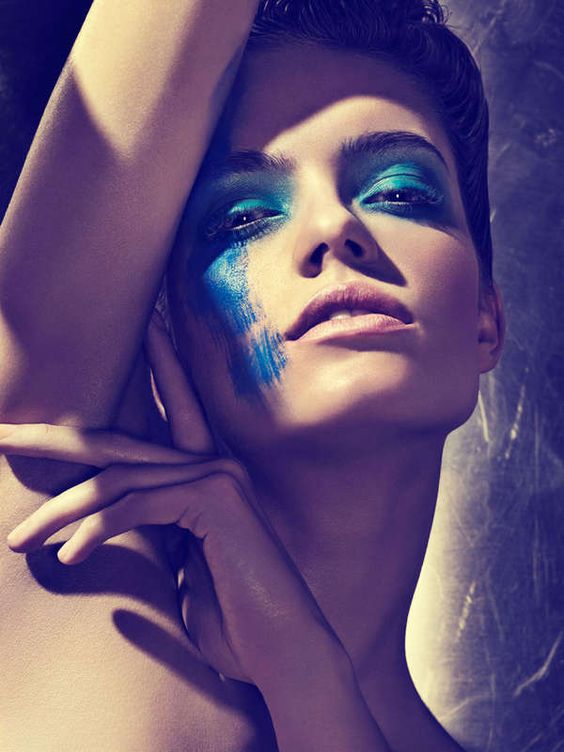 Smudged Makeup Editorials - The Fashion Gone Rogue 'Beautiful Color' Photoshoot is Vibrantly Edgy (GALLERY)