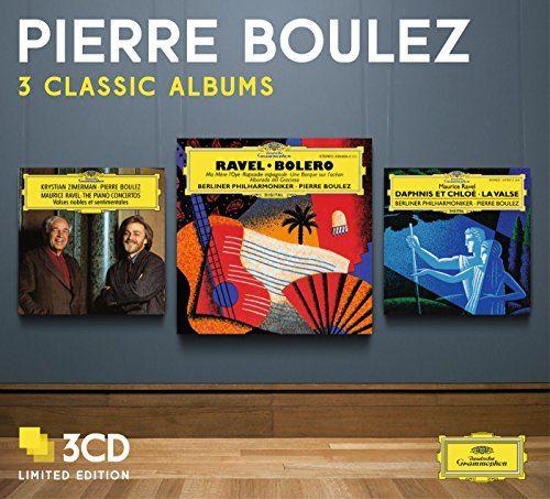 Various - Boulez: Three Classic Albums