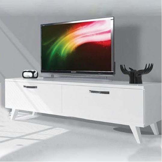 bino 120 cm tv sehpasi tv unitesi beyaz