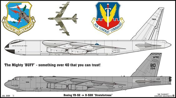 Boeing YB-52 y B-52H