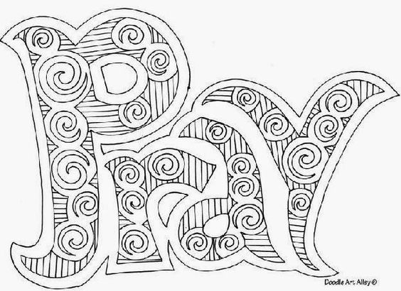 hezekiahs prayer for healing coloring pages | Pray Adult Religious Coloring Worship Prayer Ideas Pint ...