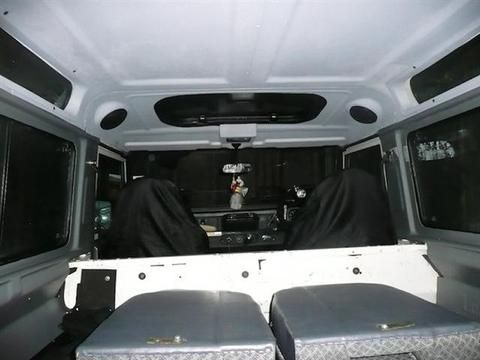 Lasalle Trim Defender Headliners Lasalle Defender Land Rover Defender